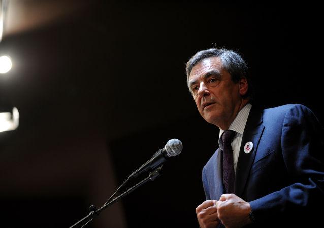 Były premier Francji Francois Fillon