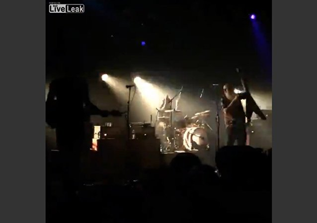 Beginning of Mass Shootings during a Concert of Eagles of Death Metal at the Bataclan in Paris