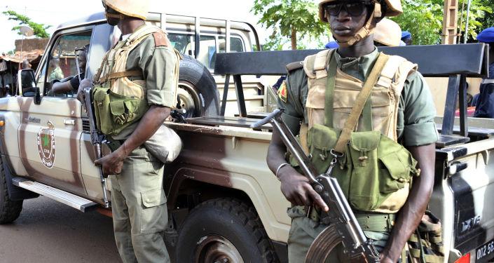 Wojskowi w Mali