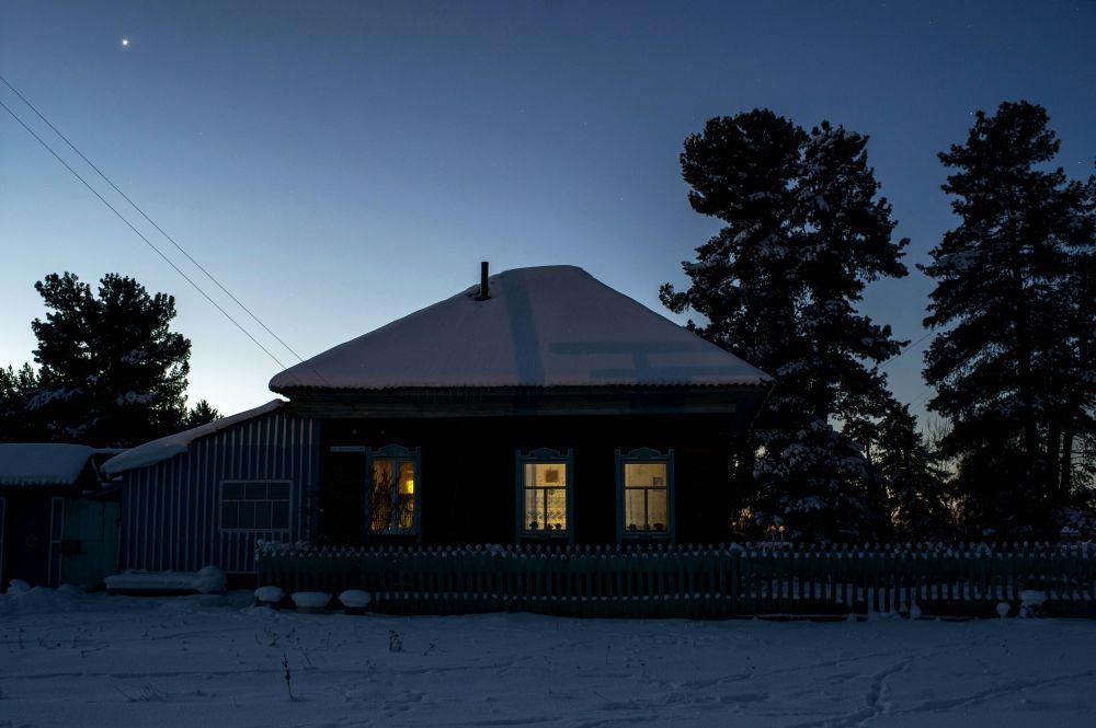Dom w miejscowości Bobrowka w obwodzie omskim