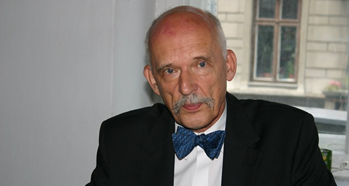 Janusz Korwin-Mikke, europoseł, polityk