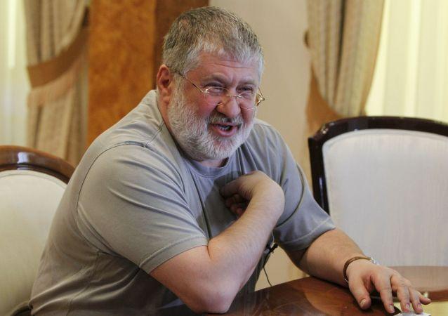 Gubernator obwodu dniepropietrowskiego Ukrainy Ihor Kołomojski