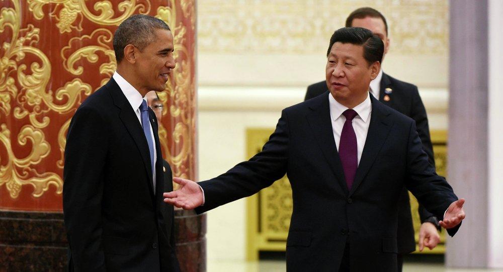 Xi Jinping i Barack Obama