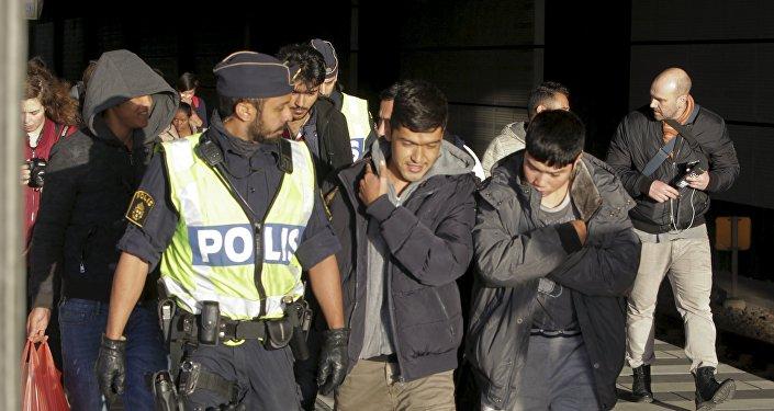 Migranci w Szwecji