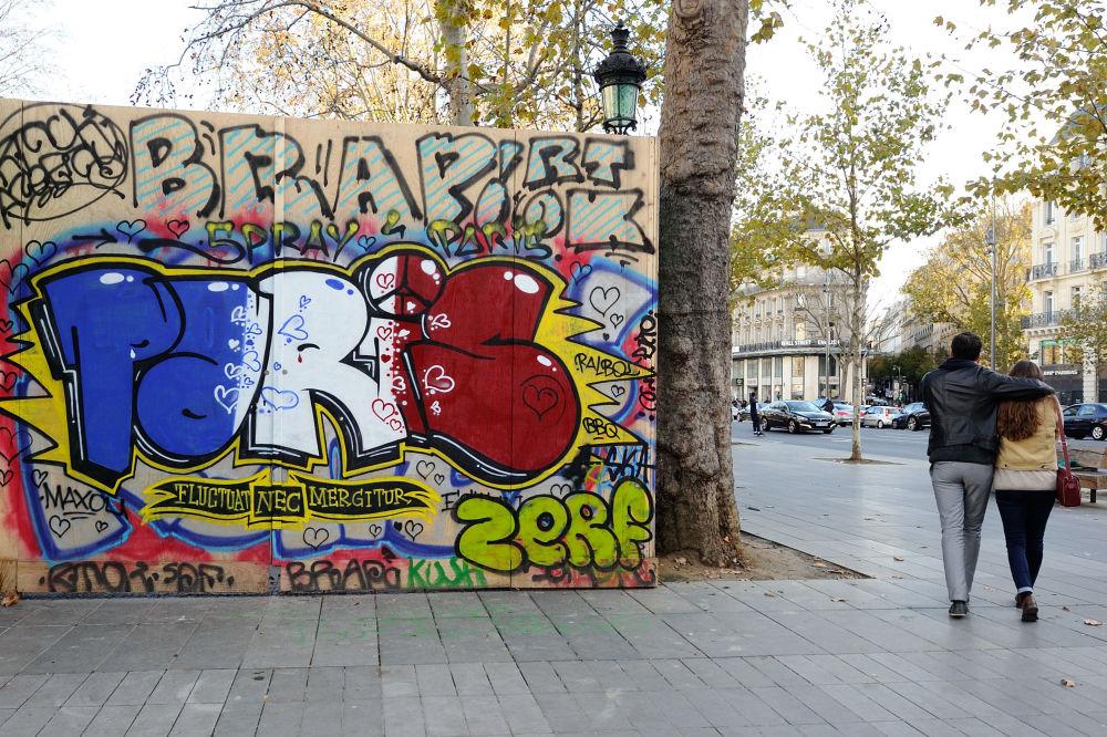 Graffiti w Paryżu