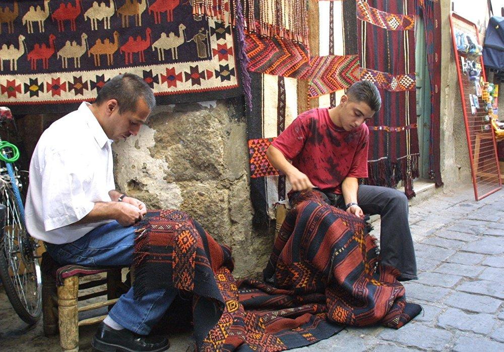 Bazar w Starym Mieście w Damaszku