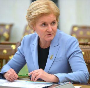 Wicepremier rosyjskiego rządu Olga Gołodiec