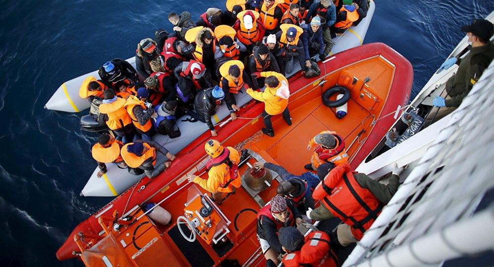 Uchodźcy na tureckim wybrzeżu