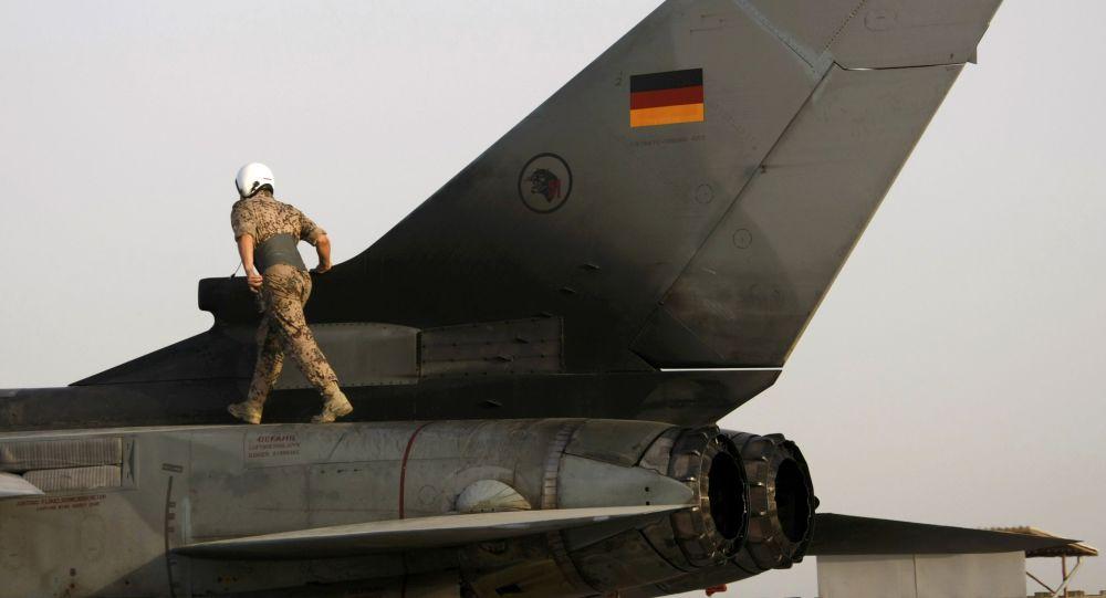 Myśliwiec Tornado niemieckich sił powietrznych