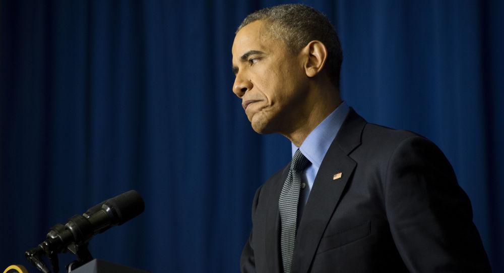 Barack Obama na konferencji prasowej w Paryżu