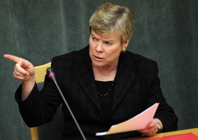 Asystentka sekretarza stanu USA ds. kontroli zbrojeń i bezpieczeństwa międzynarodowego Rose Gottemoeller