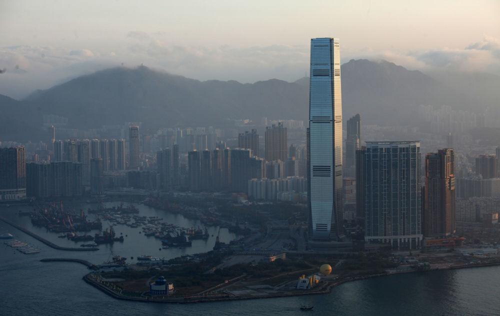 International Commerce Centre w Hongkongu