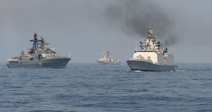 Rosyjsko-indyjskie manewry morskie INDRA-2014