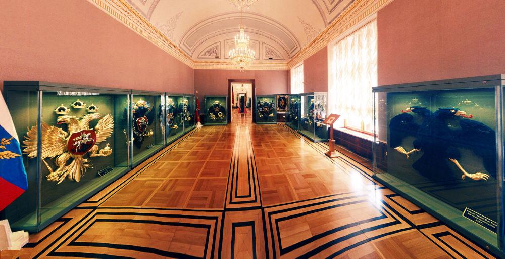 Sala wystawowa Pałacu Senackiego w Kremlu