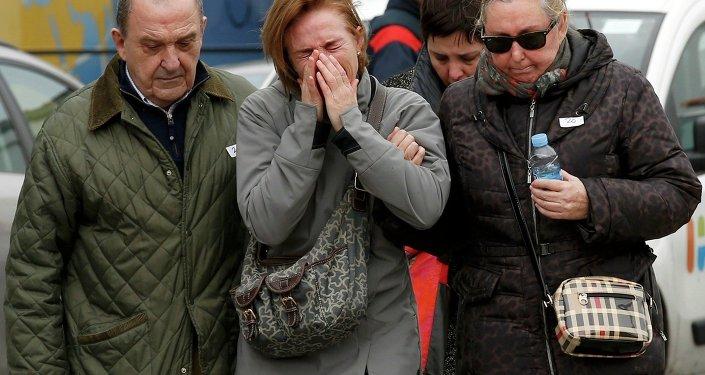 Członkowie rodzin pasażerów Airbusa A320 Germanwings