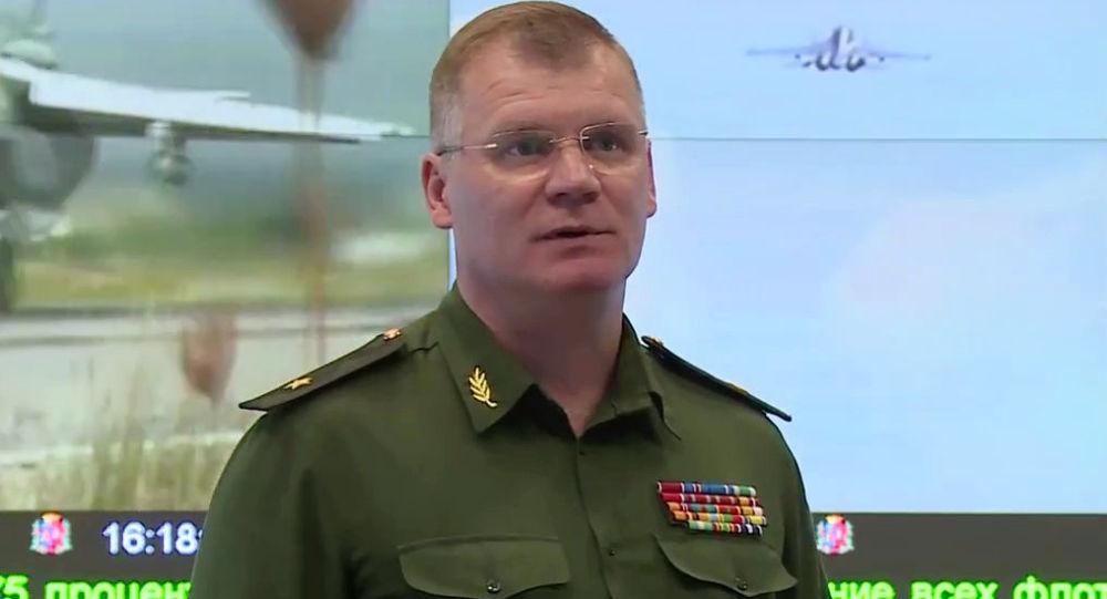 Rzecznik Ministerstwa Obrony Rosji generał-major Igor Konaszenkow