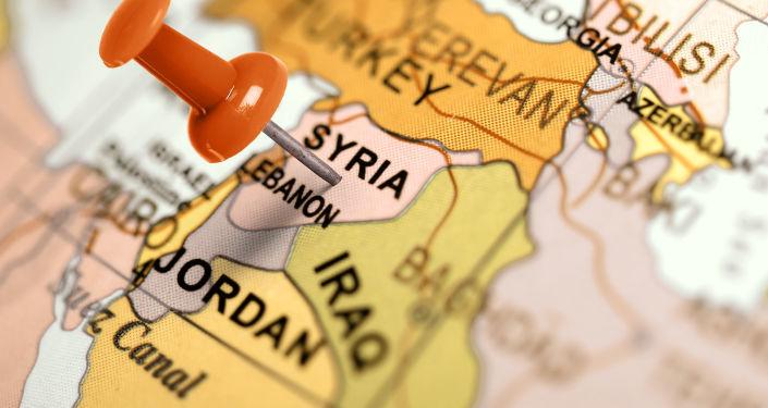 Mapa Bliskiego Wschodu