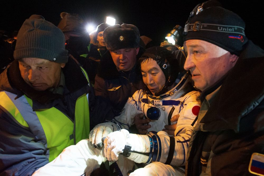 Japoński astronauta Kimiya Yui