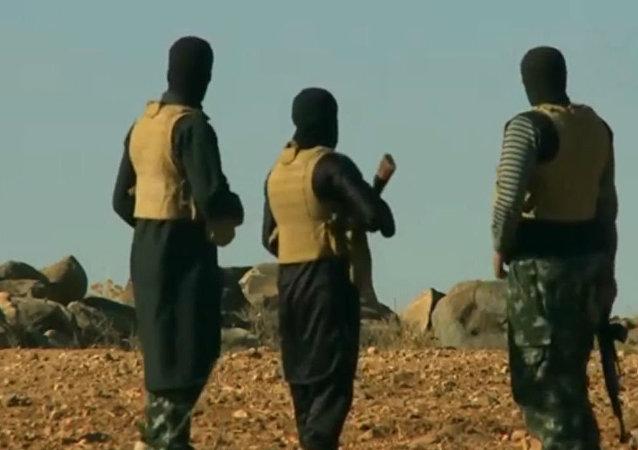 Bojownicy PI w Afganistanie