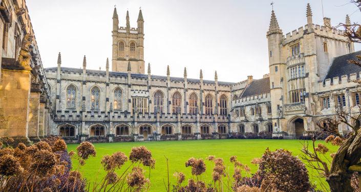 Magdalen College, wchodzący w skład Uniwersytetu Oksfordzkiego w Anglii