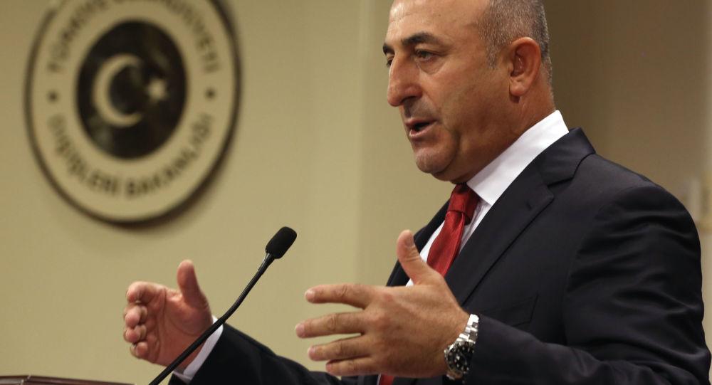 Minister spraw zagranicznych Turcji Mevlut Cavusoglu
