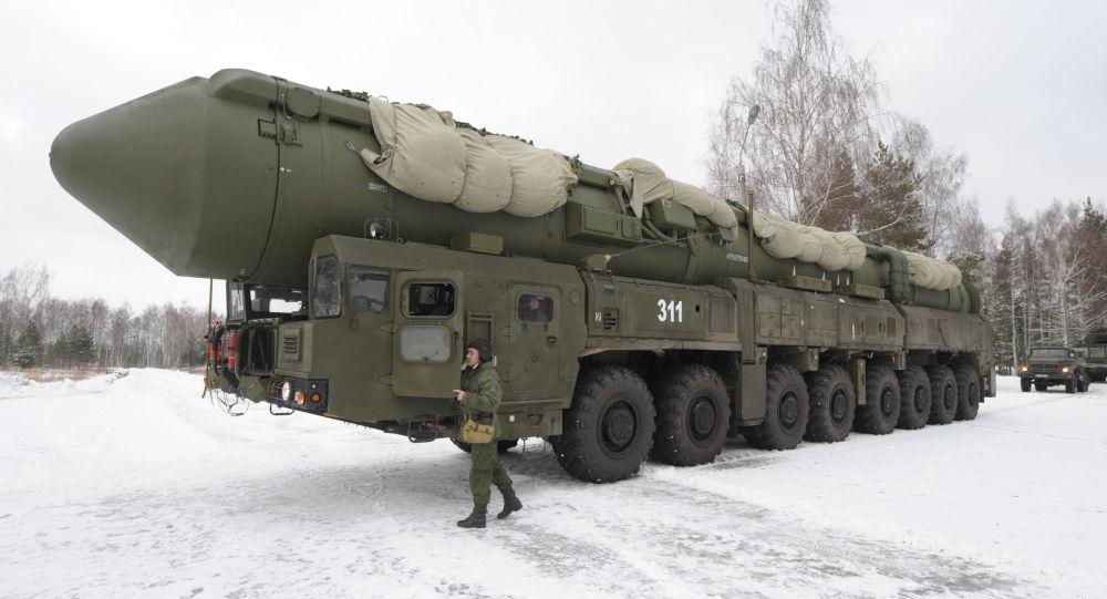 Mobilny system wyrzutni rakiet Jars w obwodzie iwanowskim