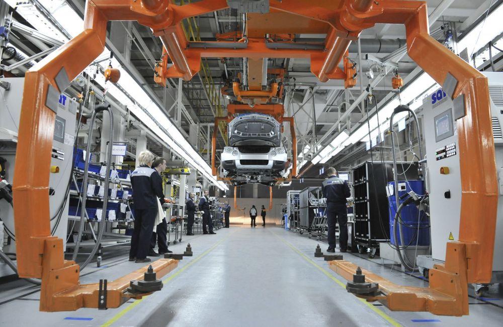 Produkcja samochodu Skoda Yeti w Gorkowskiej Fabryce Samochodów (GAZ) w Niżnym Nowogrodzie.