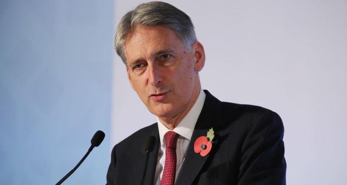 Minister spraw zagranicznych Wielkiej Brytanii Philip Hammond