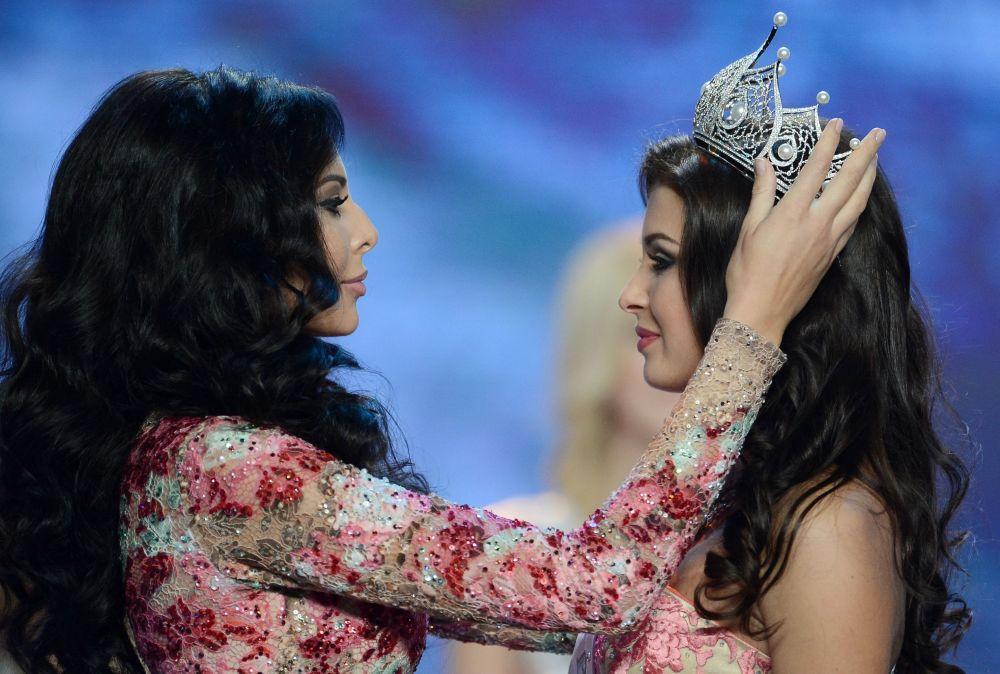 Miss Rosji-2015 Sofia Nikitczuk w Barvikha Concert Hall