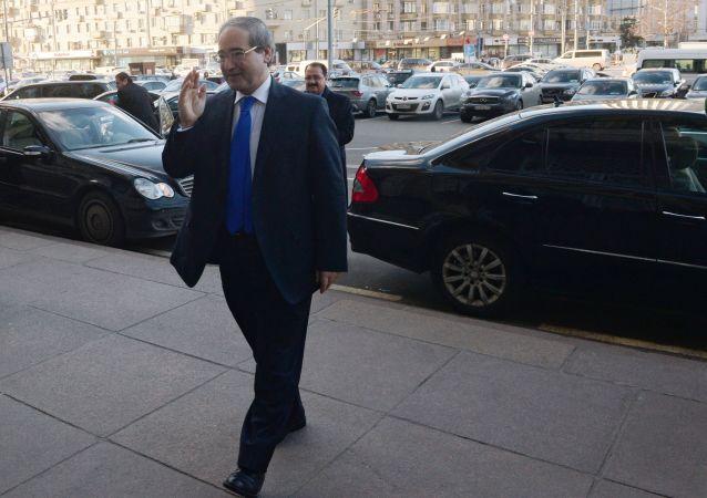 Wiceminister spraw zagranicznych Syrii Faisal Miqdad