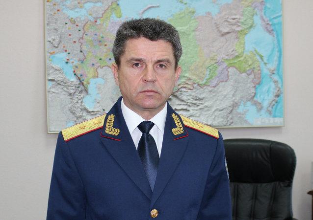 Rzecznik Komitetu Śledczego Rosji Władimir Markin.