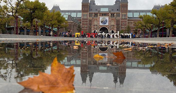Holenderskie muzeum narodowe Rijksmuseum w Amsterdamie