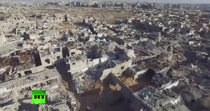 Apokaliptyczne zdjcia zrujnowanych przedmieść Damaszku