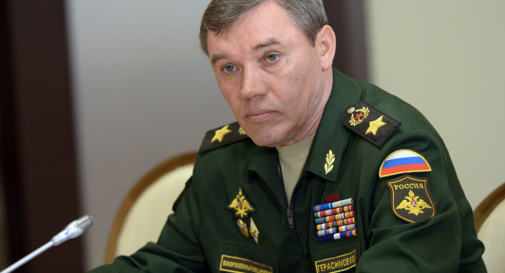 Szef Sztabu Generalnego Sił Zbrojnych Rosji generał armii Walerij Gierasimow