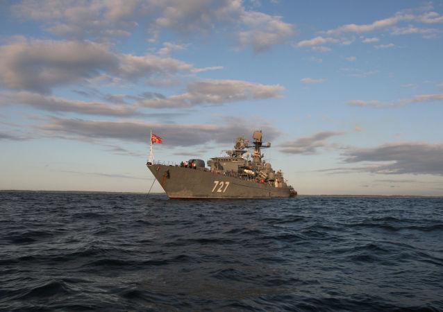 Okręt Floty Bałtyckiej Jarosław Mądry