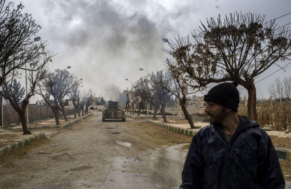 Armia syryjska wzięła pod kontrolę lotnisko wojskowe Marj al-Sultan