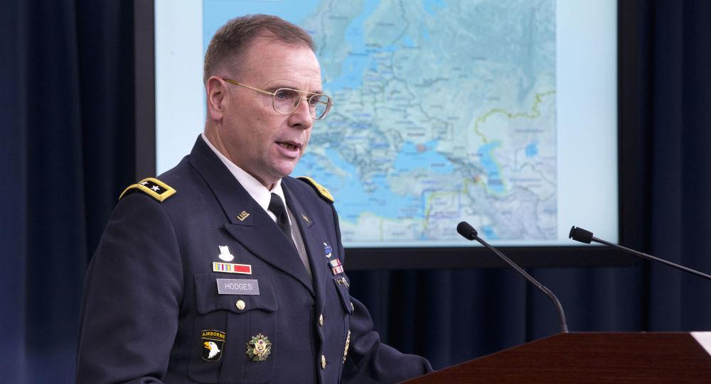 Dowódca Wojsk Lądowych USA w Europie Ben Hodges