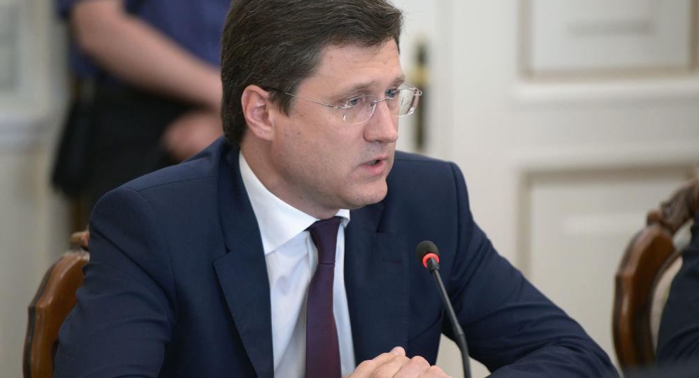 Minister energetyki Rosji Aleksander Nowak na naradzie rosyjskiego rządu