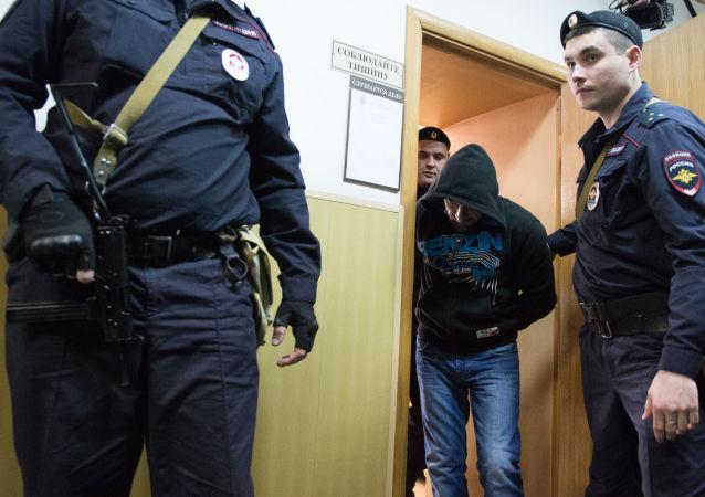 Oskarżony o zabójstwo opozycyjnego polityka Borysa Niemcowa Hamzat Bahajew