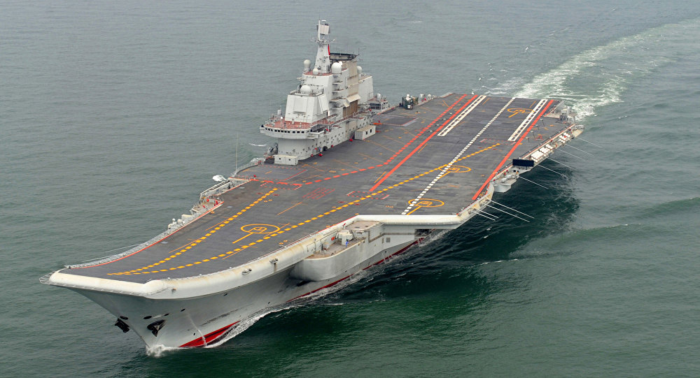 Chiński lotniskowiec Liaoning