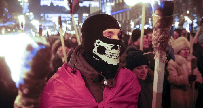 Tysiące zwolenników Stepana Bandery uczciło jego pamięć w Kijowie