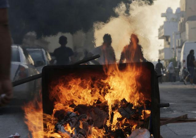 Protesty szyitów w Bahrajnie
