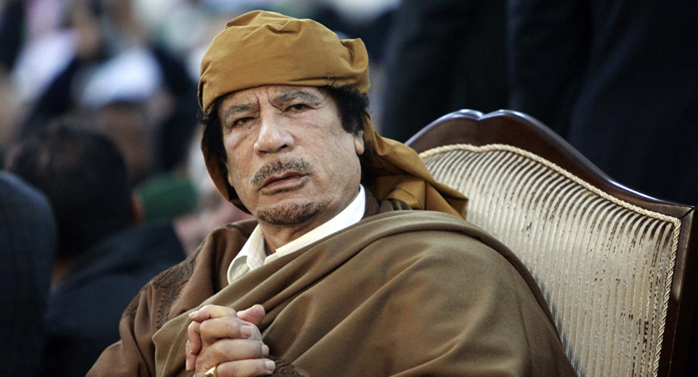 Przywódca Libii Muammar Kadafi