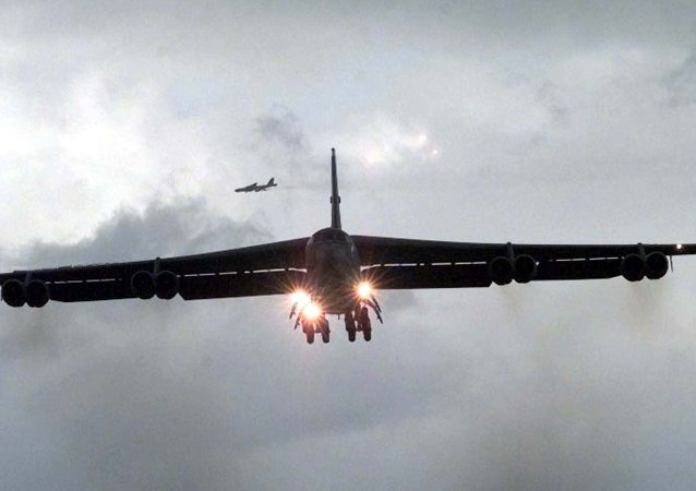 Amerykański bombowiec strategiczny B-52