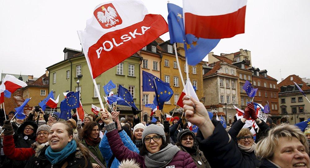 Manifestacja 9 stycznia 2016, Warszawa, Polska