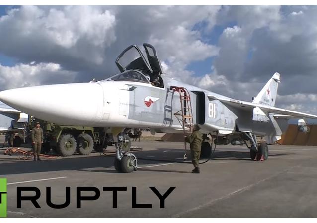 Przygotowanie Su-24 do lotu bojowego