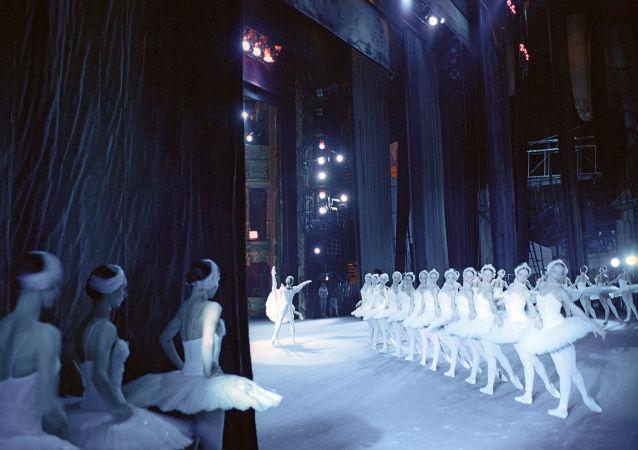 Balet Jezioro Łabędzie w Teatrze Bolszoj