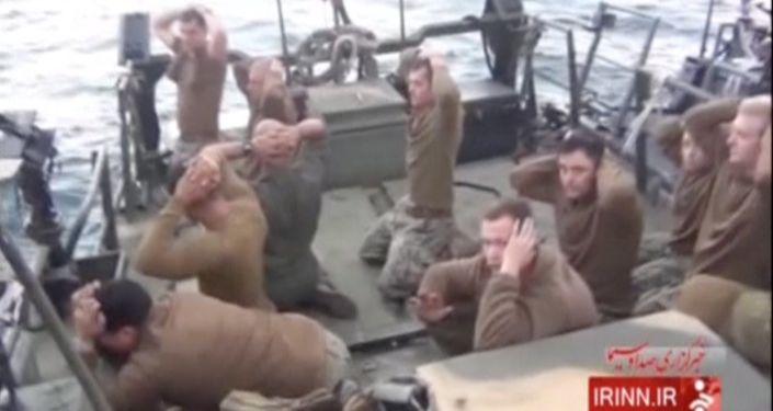 Zatrzymanie amerykańskich wojskowych przez irańskich pograniczników