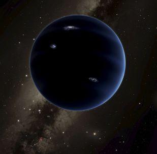 Ilustracja przewidywanej nowej planeta Układu Słonecznego Planety 9
