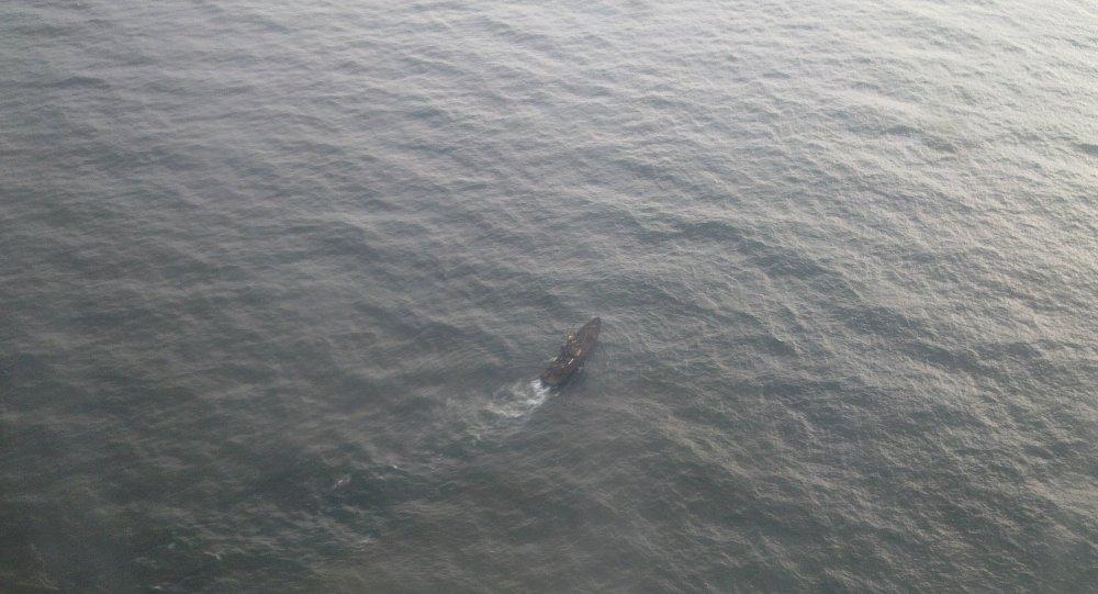 Poszukiwania załogi statku rybackiego na Morzu Ochockim